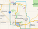 A screenshot of Postmates' metro Phoenix delivery zone.