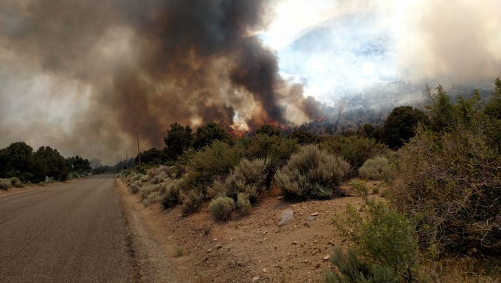 Upper Colony Fire: Evacuation orders remain as firefighters try to gain upper hand on fire