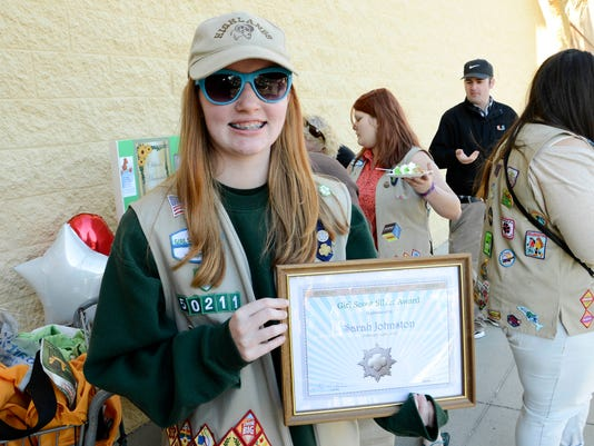 Girl Scout Receives Silver Award