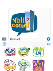 A screenshot of the new Laf-emojis in action