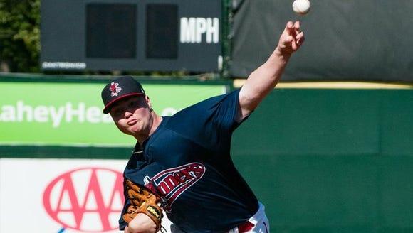 Fletcher's Logan Allen is a pitcher in the San Diego