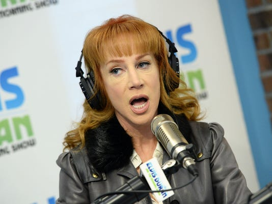 "Kathy Griffin Visits ""The Elvis Duran Z100 Morning Show"""