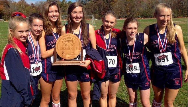 Carolina Day is the defending NCISAA 2-A girls cross country champion.
