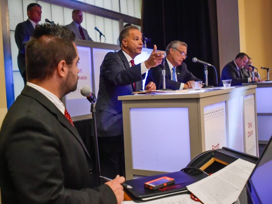 Congressional Forum hosted by SLCC for candidates in the Third Congressional District race. September 14, 2016