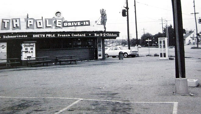 Reader Steve Kohler shared this photo of the North Pole restaurant at the area of Whiteford Road and Sherman Street, circa the 1950s or 1960s.
