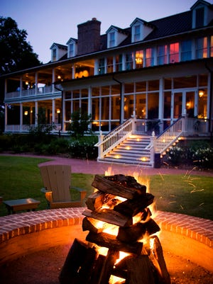 The accomodation at Palmetto Bluff include an inn, cottages, cottage suites and vacation homes.
