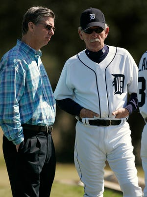 """Dave Dombrowski will be one of those interviewed in """"Jim Leyland: A Life in Baseball,"""" which premieres 9 p.m. Tuesday on the MLB Network."""