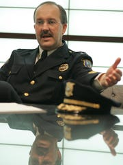 Wilmington Police Chief Michael Szczerba talks about violence and drugs in Wilmington in November 30, 2004.