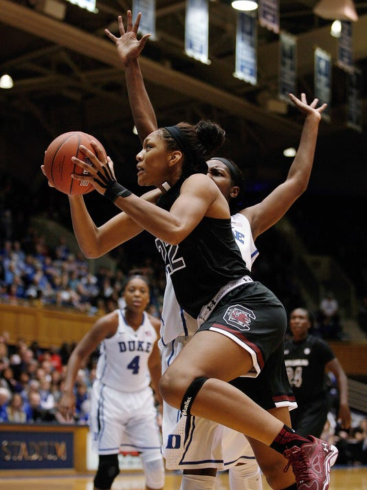 NCAA Womens Basketball: South Carolina at Duke