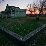 The home of Colonel Allen Allensworth is shown at Colonel Allensworth State Historic Park in Allensworth, Calif.
