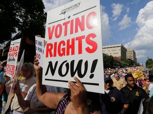 North Carolina voting rights