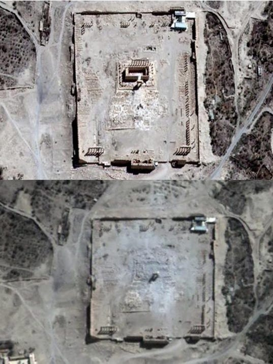 EPA SYRIA TERROR PALMYRA ACE ACTS OF TERROR MONUMENTS & HERITAGE SITES SYR