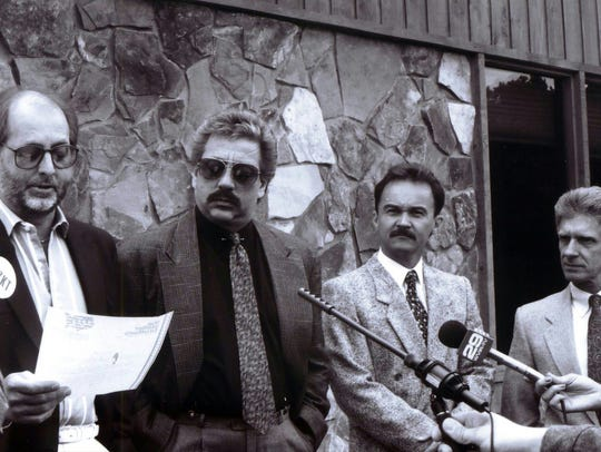 The Statler Brothers announcing April 25, 1990, that