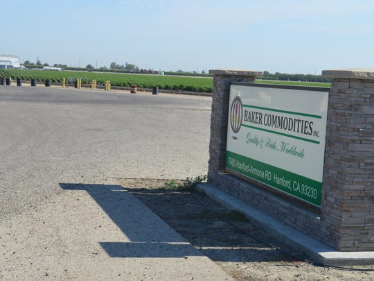 Baker Commodities is located in Kings County.
