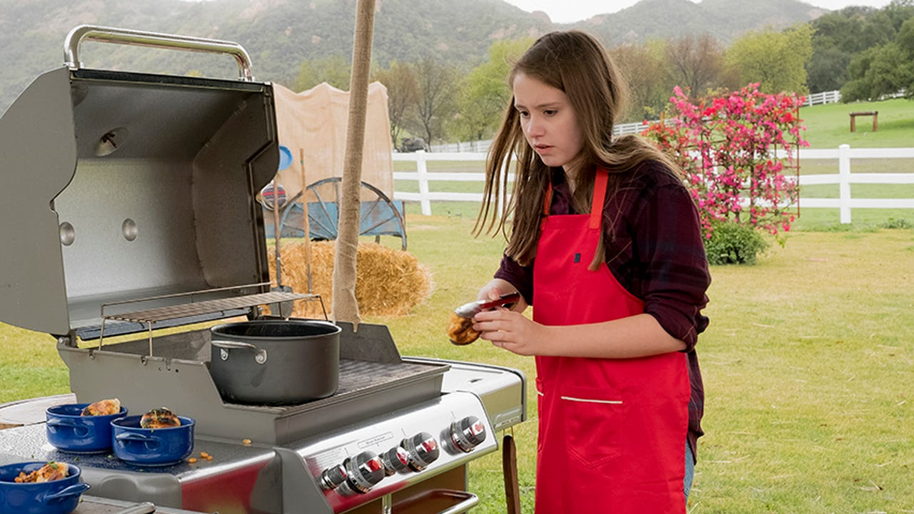 Fourteen-year-old Madison Melnyk is a burgeoning chef. She recently won a kids BBQ competition on the Food Network.