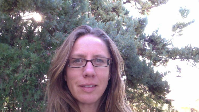 """Catalina Claussen, an English teacher at Aldo Leopold Charter School, is one of four writers in the community invited to share their work during the """"Creative Voices of the Gila"""" portion of the 6th Annual Natural History of the Gila Symposium on Thursday."""