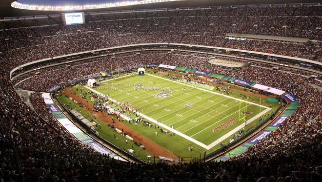 The NFL returns to Mexico City Monday for a regular season game for the first time since 2005.