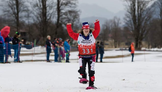 Garfield's Courtney Muns won silver in the Winter World Special Olympics in Austria.