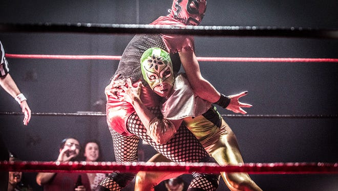 "Lesbian lucha libre is in the house when ""Signature Move"" screens during the Outflix Film Festival."