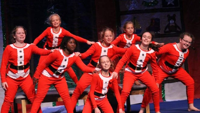 The Spotlights performing in the City of Vero Beach Recreation Department's 2016 holiday production.