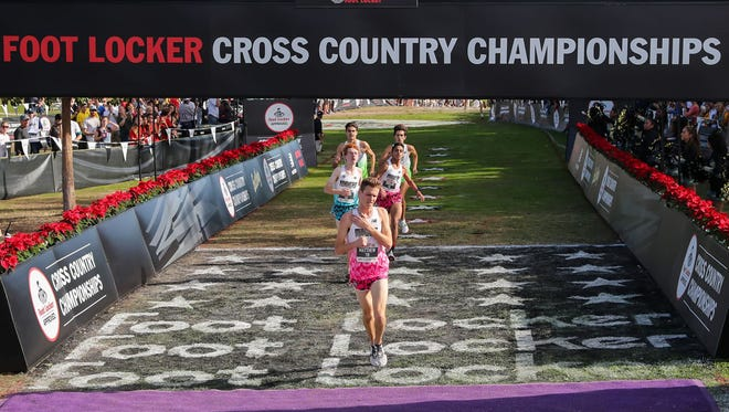 Memorial senior Matthew Schadler finished 26th out of 40 runners in Saturday's Foot Locker Cross Country National Championships in San Diego.