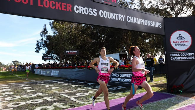 Buckeye Valley senior Zach Kreft finishes 12th in San Diego over the weekend at the Foot Locker Cross Country National Championships.