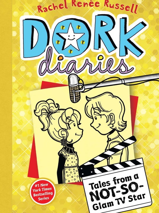 Cover Reveal Dork Diaries 7 Tales From A Not So Glam Tv Star