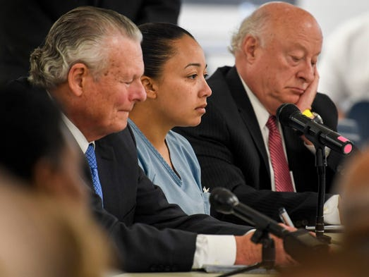 Cyntoia Brown Today >> Cyntoia Brown hearing in Nashville: Parole panel split on granting clemency