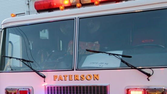 Paterson Fire Department engine.