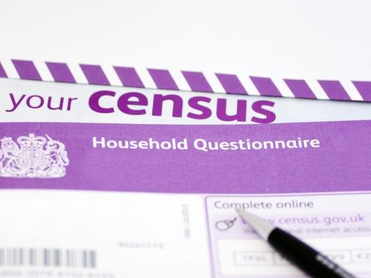 UK Census Form