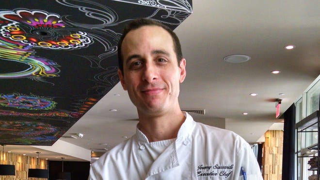 Jeremy Saccardi, executive chef at Simon Kitchen + Bar in Palm Springs.