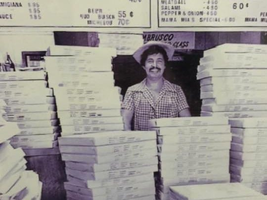 Erminio Iantosca and his wife, Josephine, opened Mama Mia's Pizza in 1975, when slices were 60 cents.