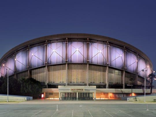 Veterans Memorial Coliseum, near 19th Avenue and McDowell