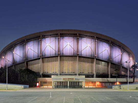 Veterans Memorial Coliseum, near 19th Avenue and McDowell