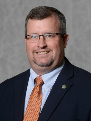 Dr. Todd Winters, professor of animal science and dean of the UT Martin College of Agriculture and Applied Sciences.