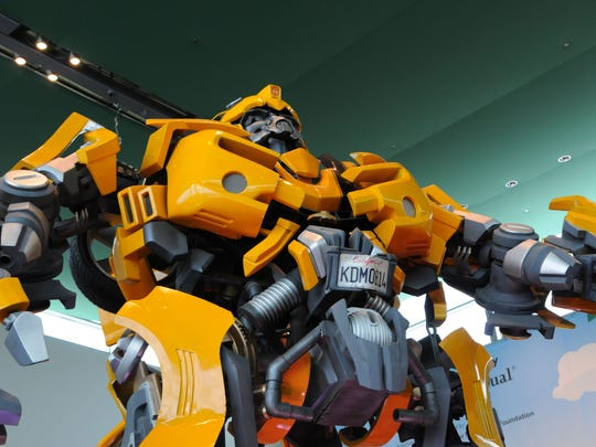 """Bumblebee the Autobot from """"Transformers"""""""