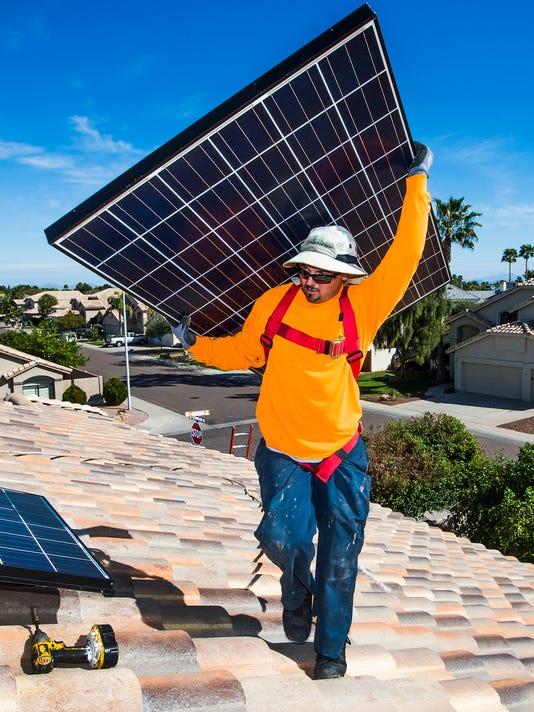 Salt River Project solar charges