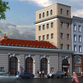 A rendering of a proposed restraurant-residential complex at 16-18 North Main St. in Port Chester.