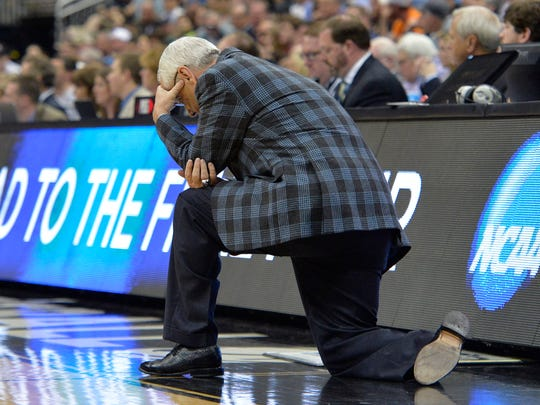 Some of coach Roy Williams' in-game reactions appear