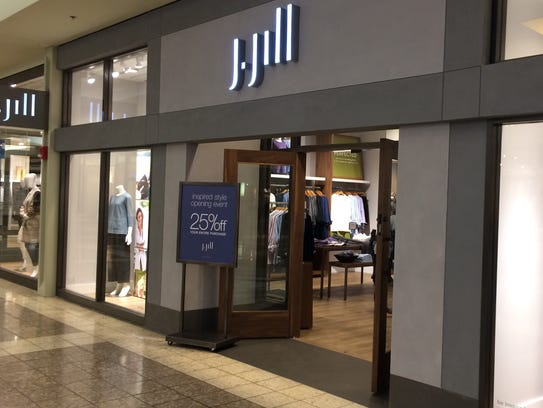 J.Jill returned to the Fox River Mall in Grand Chute.