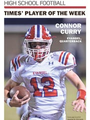 Evangel quarterback Connor Curry picked up (Week 9)