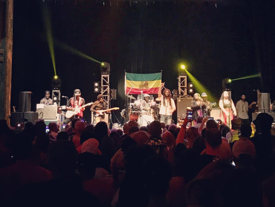 The Wailers perform at the 23rd annual People's Festival