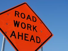 Repaving along Muncie Bypass to reduce lanes open to traffic
