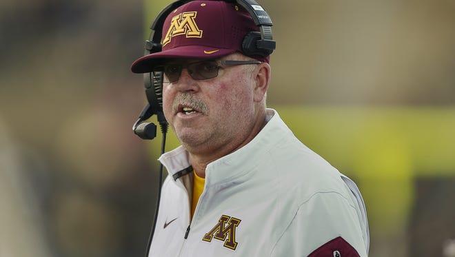 Minnesota coach Jerry Kill