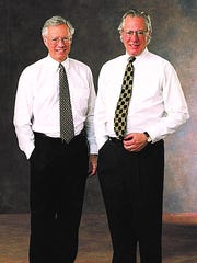 Richard and Peter Bemis