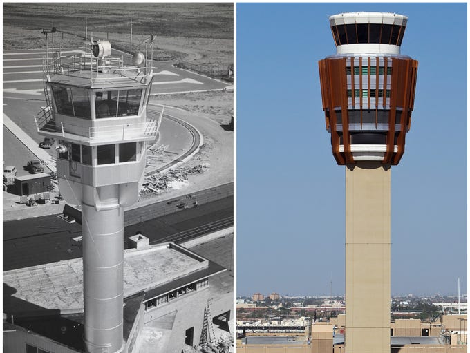 Phoenix Sky Harbor International Airport has grown