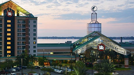 The Isle of Capri Casino Hotel in Southwest Louisiana