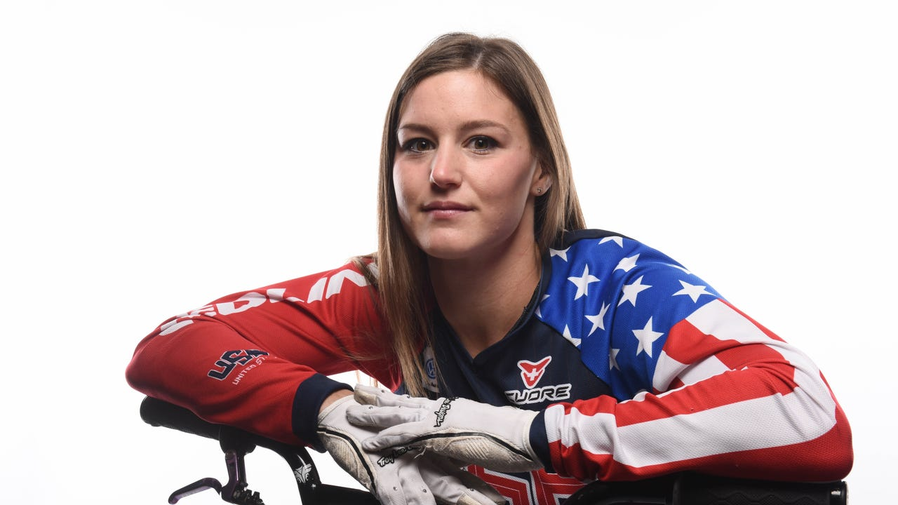 """Alise Post got the nickname """"The Beast"""" almost as a joke when she starting BMX racing as a kid, but the moniker has stuck with her ever since."""