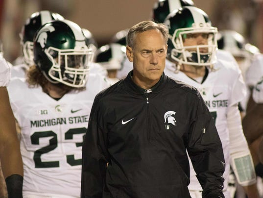 NCAA Football: Michigan State at Indiana