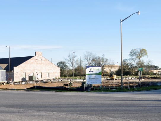 An 8,000-square-foot Acadiana Vascular Center is being